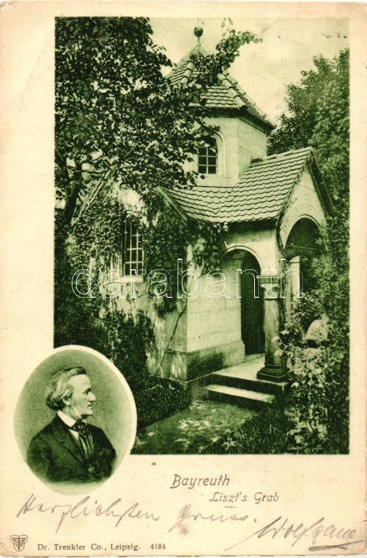 Bayreuth, Liszt's Grab / Liszt's tomb