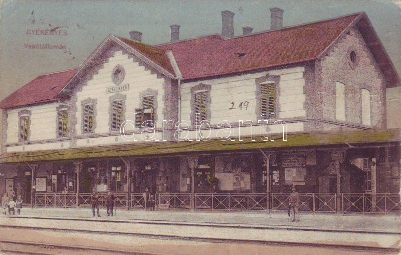 Gyékényes, vasútállomás
