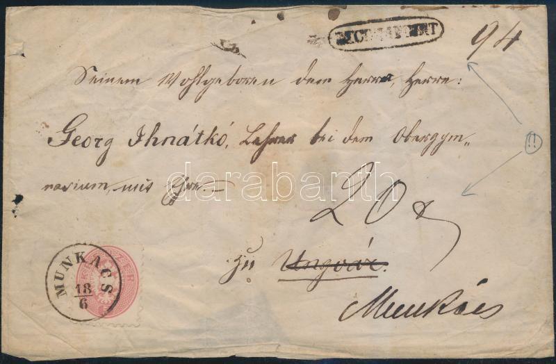 186.. 5kr + 10kr (damaged)  registered cover (1 flap missing)