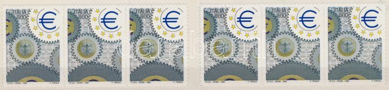 International Stamp Exhibition ITALIA self-adhesive stampbooklet Nemzetközi bélyegkiállítás, ITALIA öntapadós bélyegfüzet