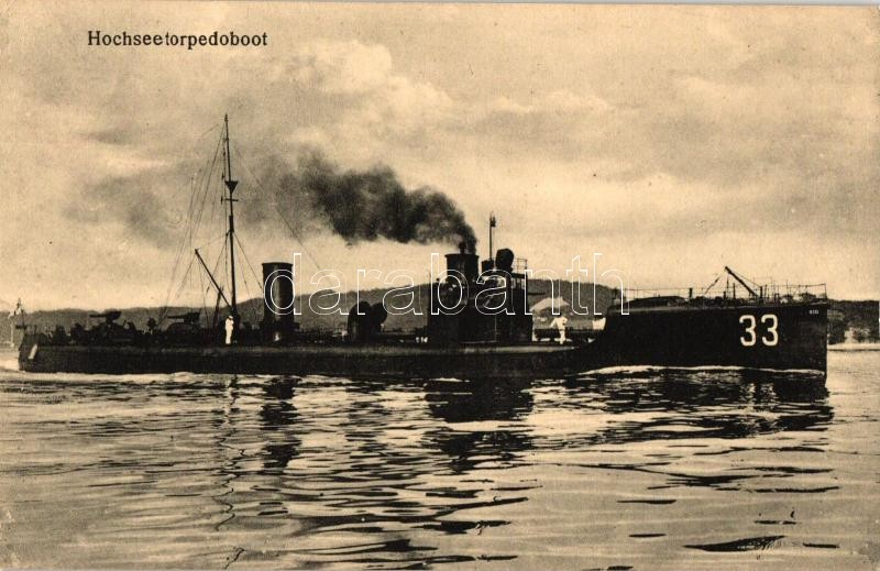 Hochseetorpedoboot / WWI German Oceanic torpedo boat