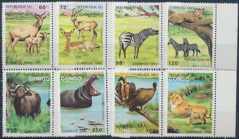Animals margin set, Állatok ívszéli sor