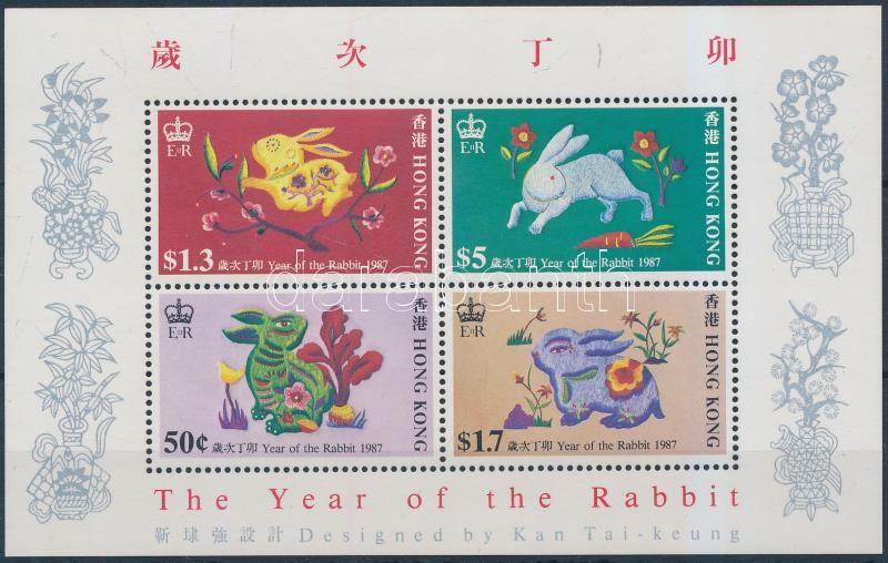 Year of the Rabbit block A nyúl éve blokk