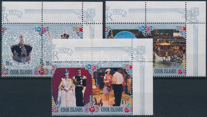 Queen Elizabeth II: set corner pairs II. Erzsébet királynő sor ívsarki párokban