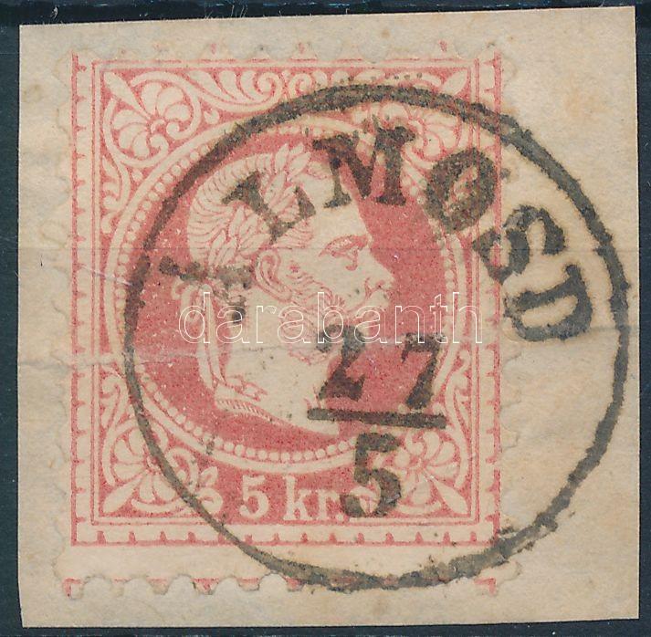 """Austria-Hungary classic postmark """"ÁLMOSD"""" """"ÁLMOSD"""""""