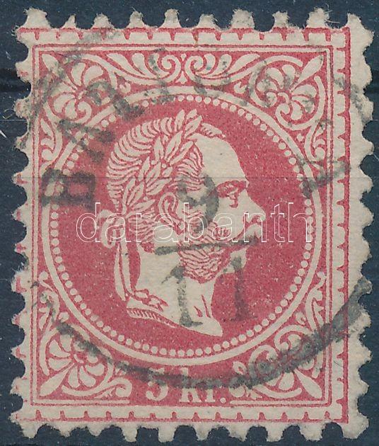 """BAT(TONY)A"" Austria-Hungary classic postmark ""BAT(TONY)A"""
