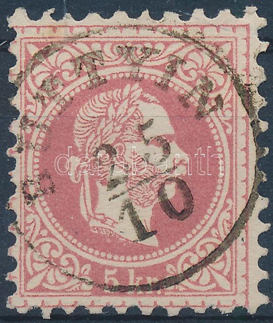 """BUTTYIN"" Austria-Hungary-Romania classic postmark ""BUTTYIN"""