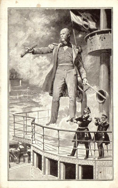 Wilhelm von Tegetthoff, K.u.K. navy propaganda, Wilhelm von Tegetthoff, K.u.K. haditengerészeti propaganda