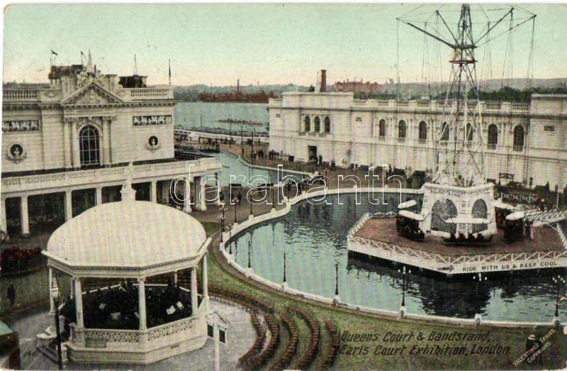 London, Earls Court Exhibition, Queen's Court, Bandstand
