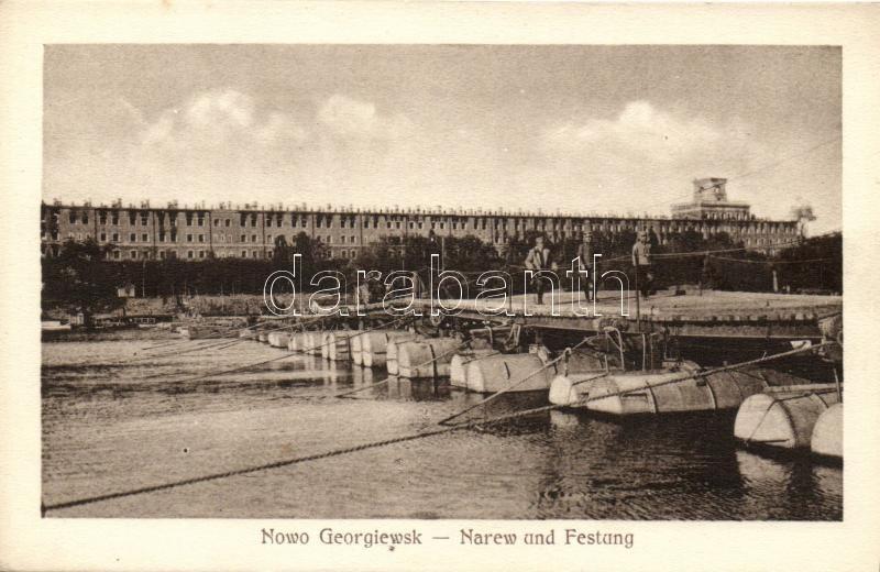 Nowy Dwór Mazowiecki, Nowogeorgiewsk; Narew und Festung Modlin, Twierdza Modlin / fortess