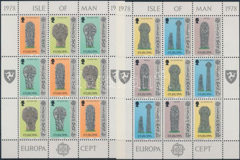 Europa CEPT monuments minisheet set, Europa CEPT műemlékek kisívsor
