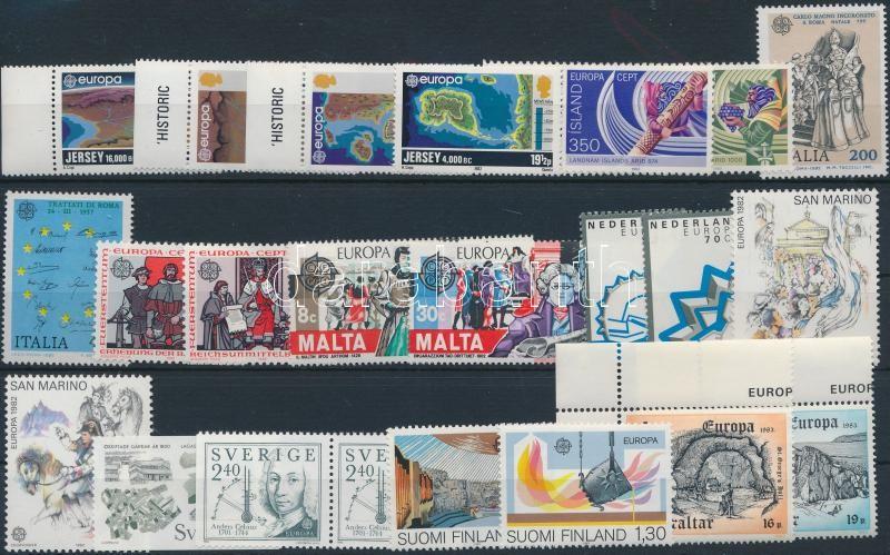 Europa CEPT 1982-1983 10 sets, Europa CEPT 1982-1983 10 klf sor