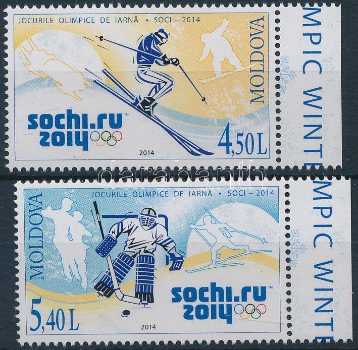 Winter Olympics, Sochi margin set, Téli olimpia Sochi ívszéli sor