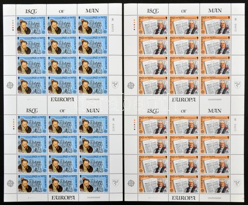 Europa CEPT full sheet set, Europa CEPT teljes ív sor