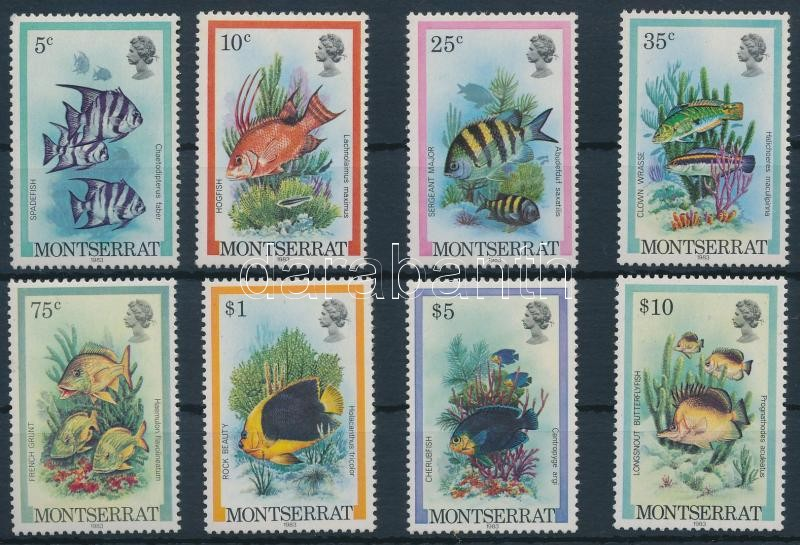 Fishes set to the year 1983, Halak sor 1983-as évszámmal