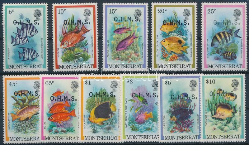 Hivatalos sor: Halak, Official set: Fishes