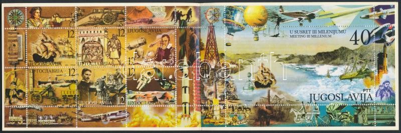 Millennium stamp booklet, Millenium bélyegfüzet