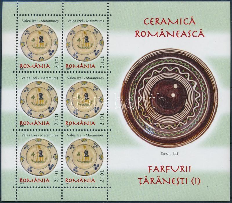 Ceramics (I) set, Kerámiák (I) kisív