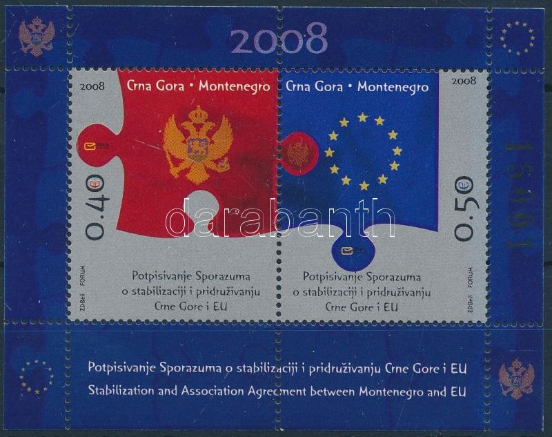 European Union stamp booklet + stamp booklet sheet, Európai unió bélyegfüzet + bélyegfüzetlap
