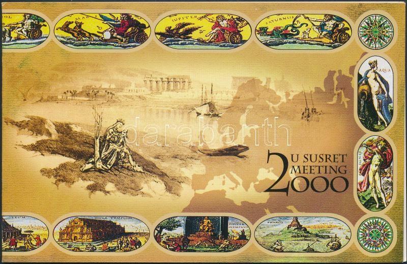 Millennium (I) stamp booklet, Ezredforduló (I) bélyegfüzet
