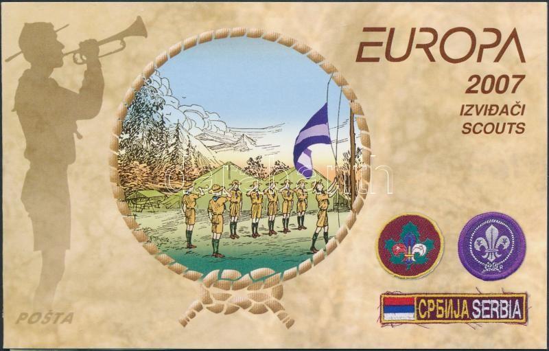 Europa CEPT: Scouting stamp booklet, Europa CEPT: Cserkészet bélyegfüzet