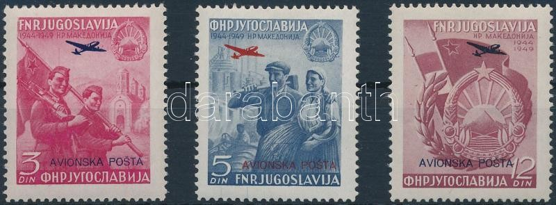 Légiposta bélyeg sor, Airmail set