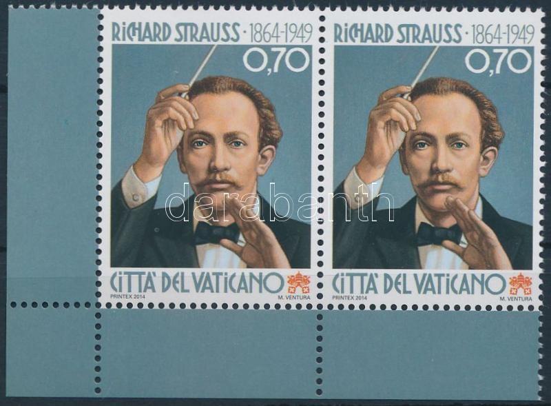 Richard Strauss corner pair, Richard Strauss születésének 150. évfordulója ívsarki pár