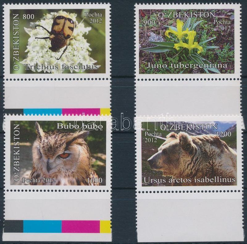 Biosphere reserve, animals margin set, Bioszféra rezervátum, állatok ívszéli sor