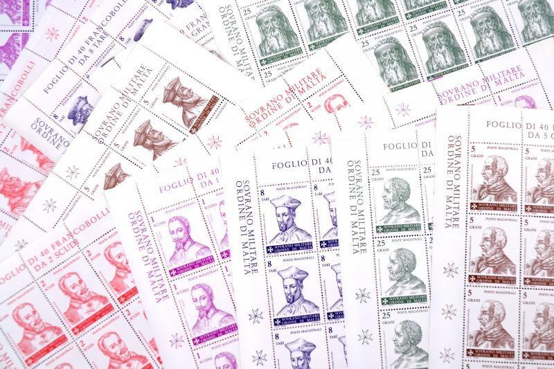 Great masters 11 stamps in full sheets, A Rend nagymesterei 11 érték teljes ívekben