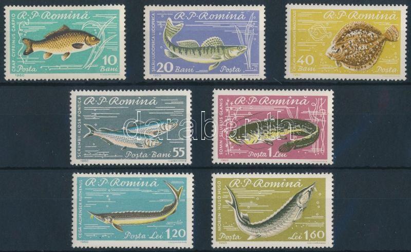 Fishes set, Halak sor