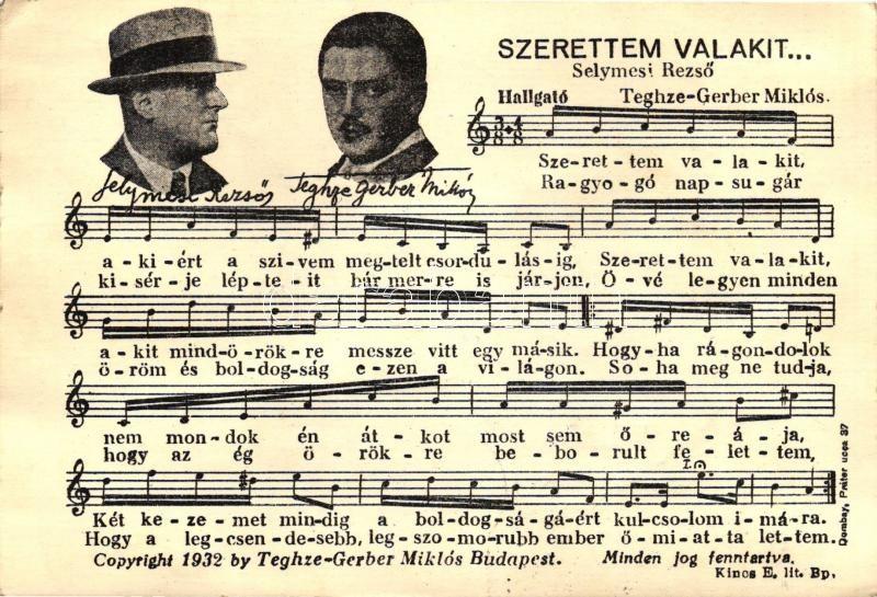 Hungarian romantic music sheet, '1938 Kassa visszatért' So. Stpl,