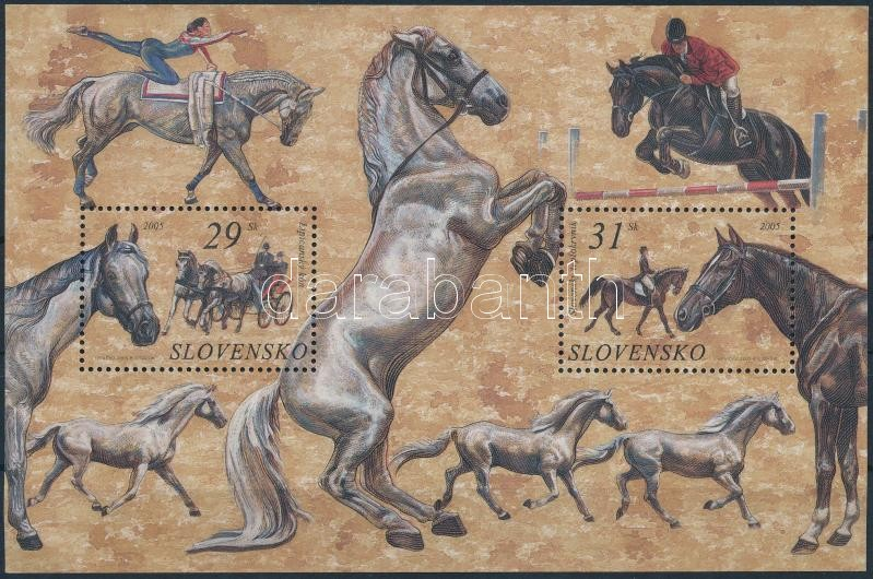 Lovak blokk, Horses block