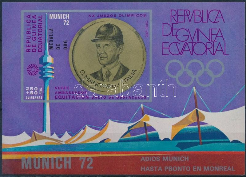 Summer Olympics medalists block, Nyári olimpia érmesei blokk