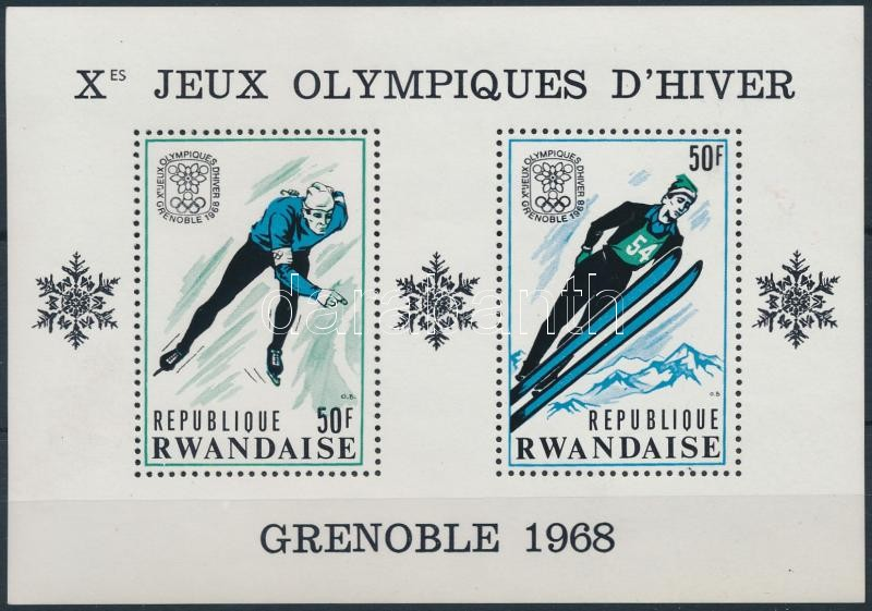 Téli olimpia, Grenoble blokk, Winter Olympics, Grenoble block