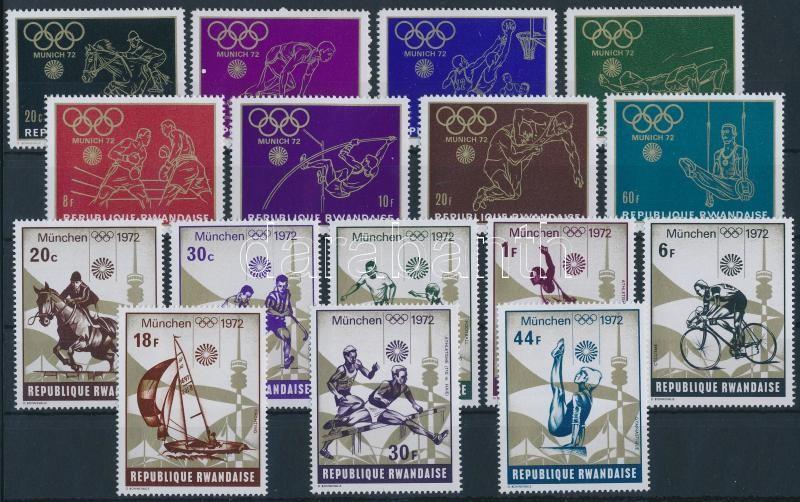 1971-1972 Olympics 2 diff sets, 1971-1972 Olimpia 2 klf sor