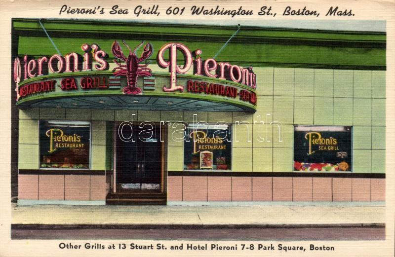 Boston, Pieroni's Sea Grill; Washington Street 601