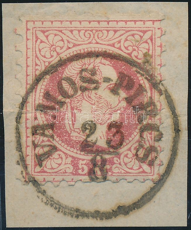 """VÁMOS-PIRCS"" Austria-Hungary classic postmark ""VÁMOS-PIRCS"""