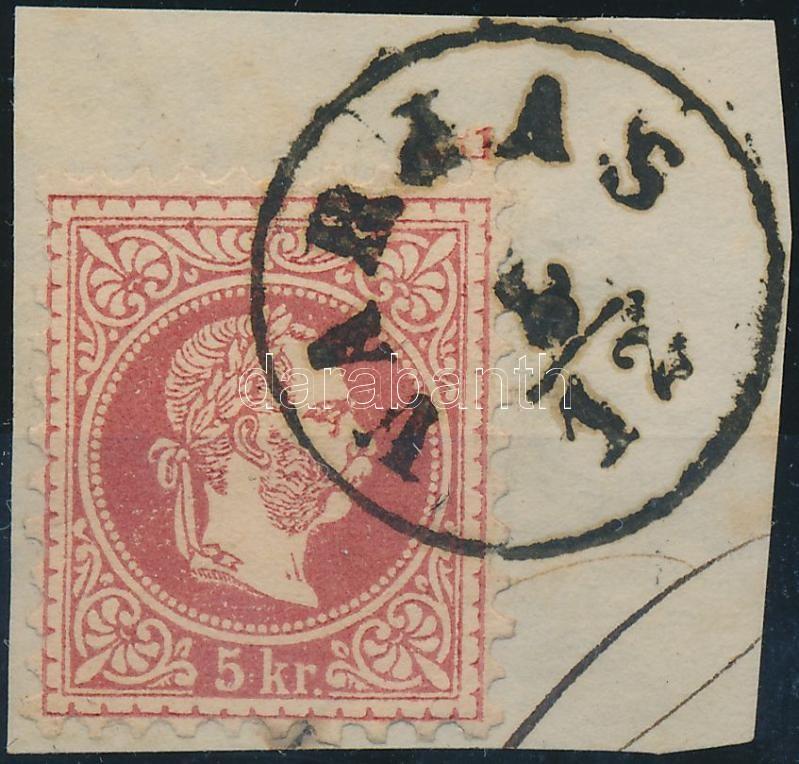 """VARJAS"" Austria-Hungary-Romania classic postmark ""VARJAS"""