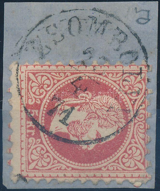"""""""ZSOMBOLYA"""" Austria-Hungary-Romania classic postmark """"ZSOMBOLYA"""""""