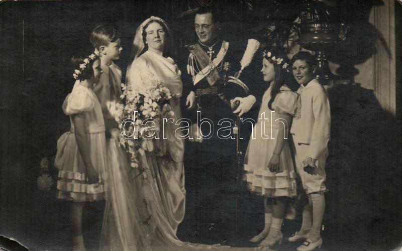 Netherlands, Royal wedding, Princess Juliana and Prince Bernhard, Hollandia, királyi esküvő, Juliana hercegnő és Bernhard herceg