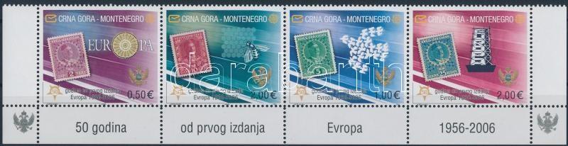 50th anniversary of Euro corner stripe of 4, 50 Éves az Euró ívsarki négyescsík