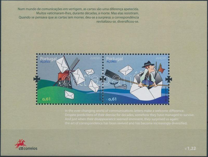 Europa CEPT: Correspondence block, Europa CEPT: Levelezés blokk