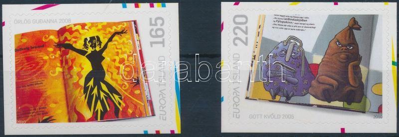 Europa CEPT: Tales Books self-adhesive set, Europa CEPT: Mesekönyvek öntapadós sor