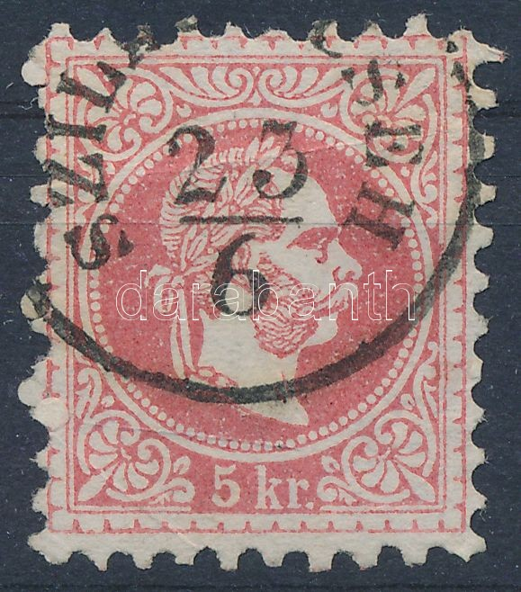 """""""SZILÁGY CSEH"""" Austria-Hungary-Romania classic postmark """"SZILÁGY CSEH"""""""