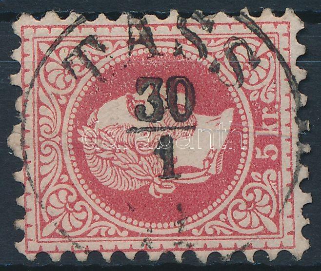 """TASS"" Austria-Hungary classic postmark ""TASS"""