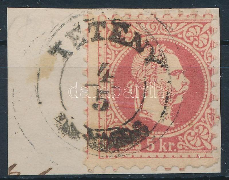 """""""TÉTÉNY"""" Austria-Hungary classic postmark """"TÉTÉNY"""""""