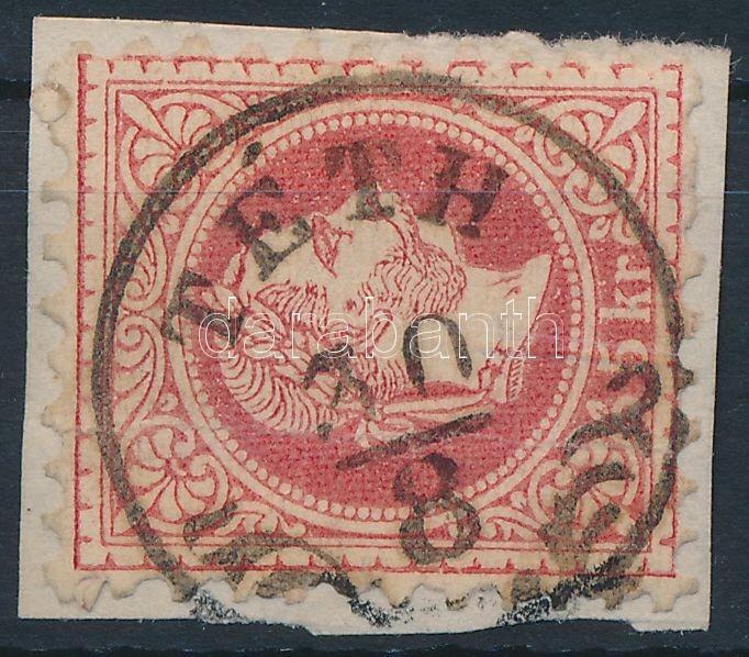 """Austria-Hungary classic postmark """"TÉTH"""" """"TÉTH"""""""