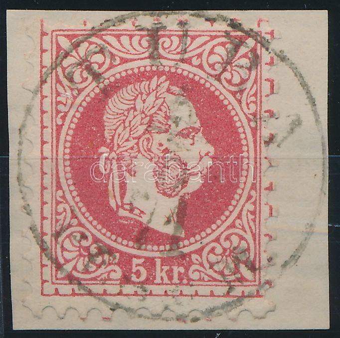 """TURA / (PEST) M."" Austria-Hungary classic postmark ""TURA / (PEST) M."""