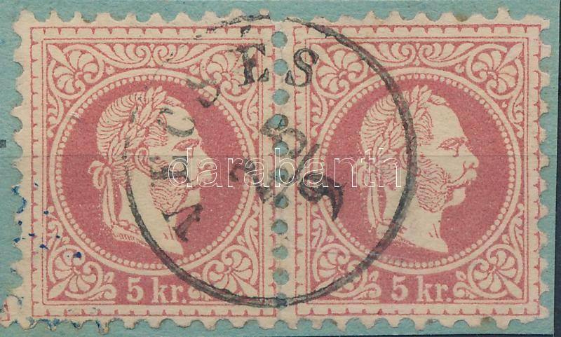 """Austria-Hungary classic postmark """"VECSÉS"""" """"VECSÉS"""""""
