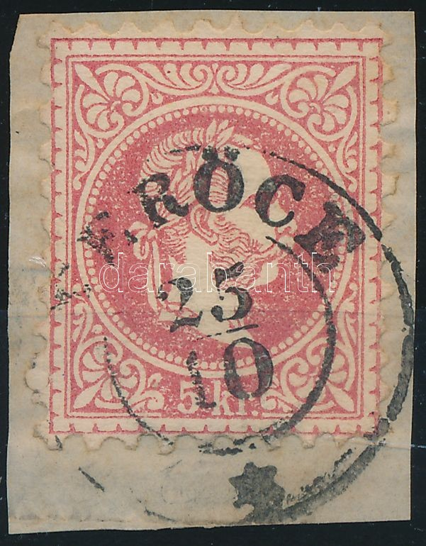 """VERÖCE"" Austria-Hungary classic postmark ""VERÖCE"""